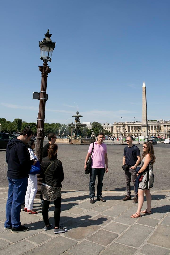 At the Place de la Concorde
