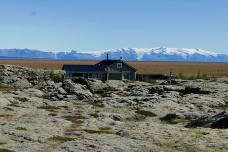 Lava field Cabin in isolated peaceful area HG-149