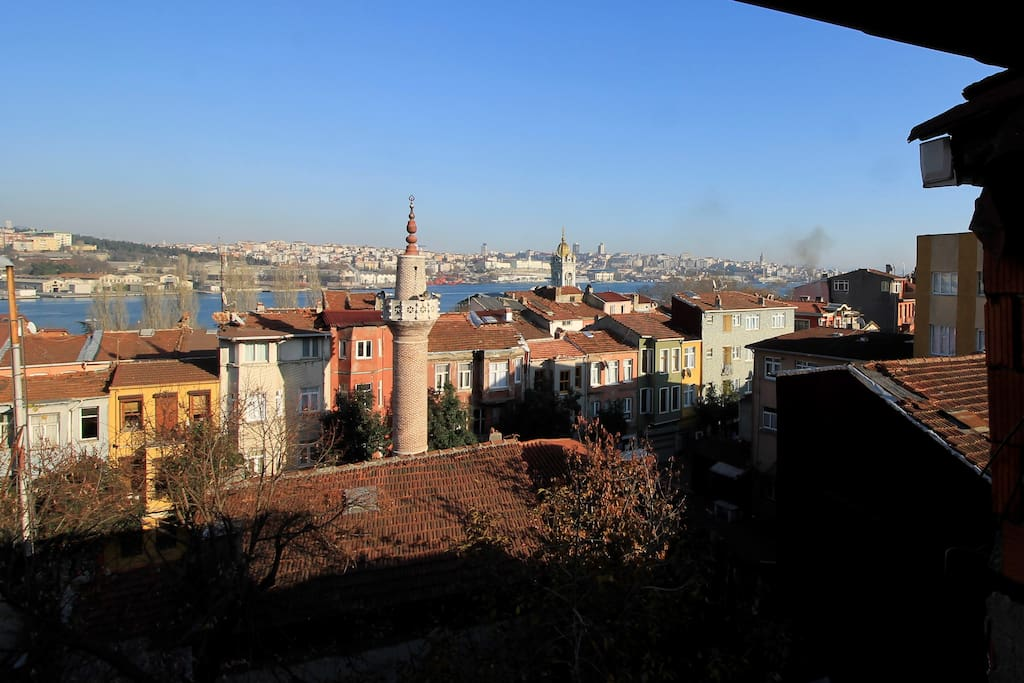 midafternoon glare over Balat