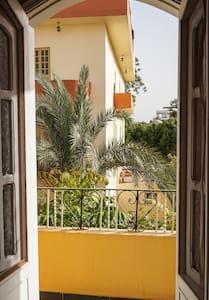 Chic flat with garden views - Luxor