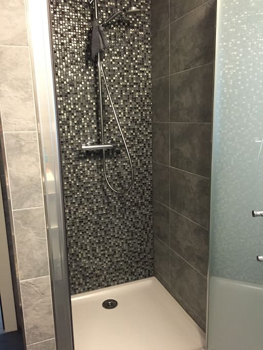 Douche salle de bains du bas