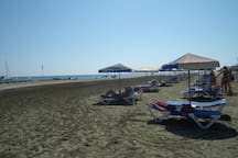 Faros beach and water sports is at 1500 metres