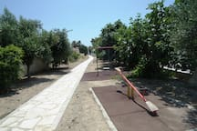 Public pathway to the beach