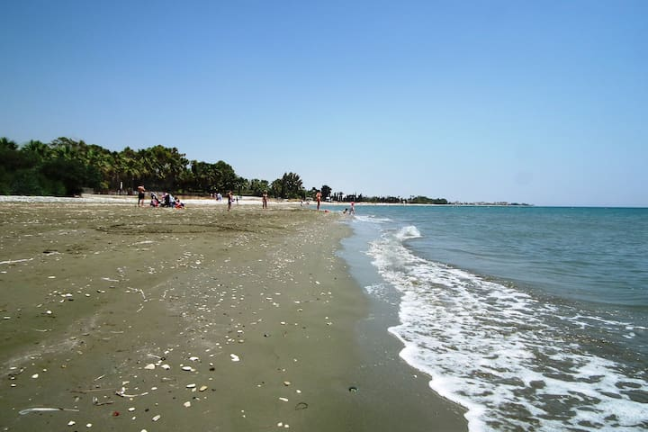 The nearest beach is  at walking distance (400 metres)