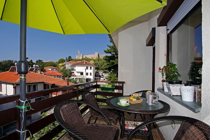 peaceful apartment in the old city CITADELA - Ohrid - Talo