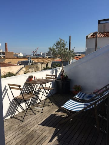 Openhouse with a terrace (cork house) - Lisboa - Loft