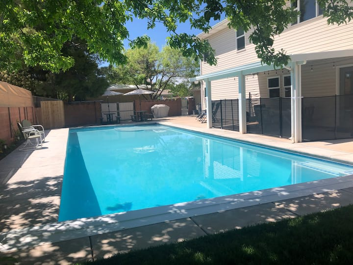 Sycamore Springs with Private Pool for Family Fun