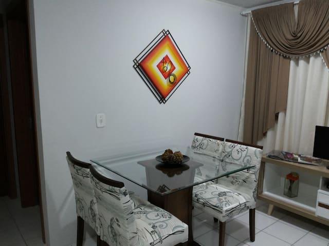 Apto aconchegante 2 dormitórios em Canela