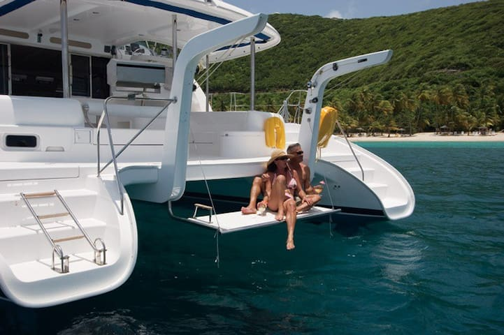 Sleep on a Luxury Catamaran for Riptide Music Fest