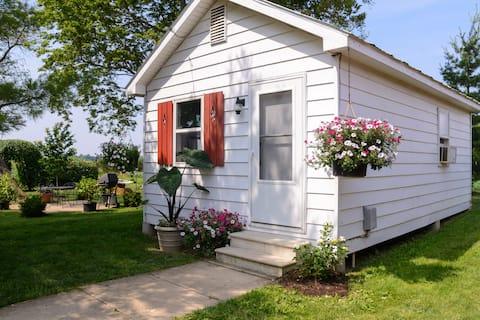 Cottage on a working market garden