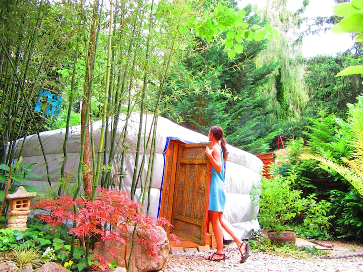 Yurt at Shantee House