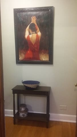 cozy private room, best location in Oak Park, IL - Oak Park - Daire