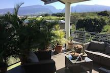 Bel appartement vue mer et montagne à Saint Pierre