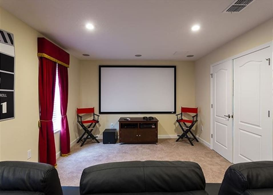 3D Movie Theater inside your own home!