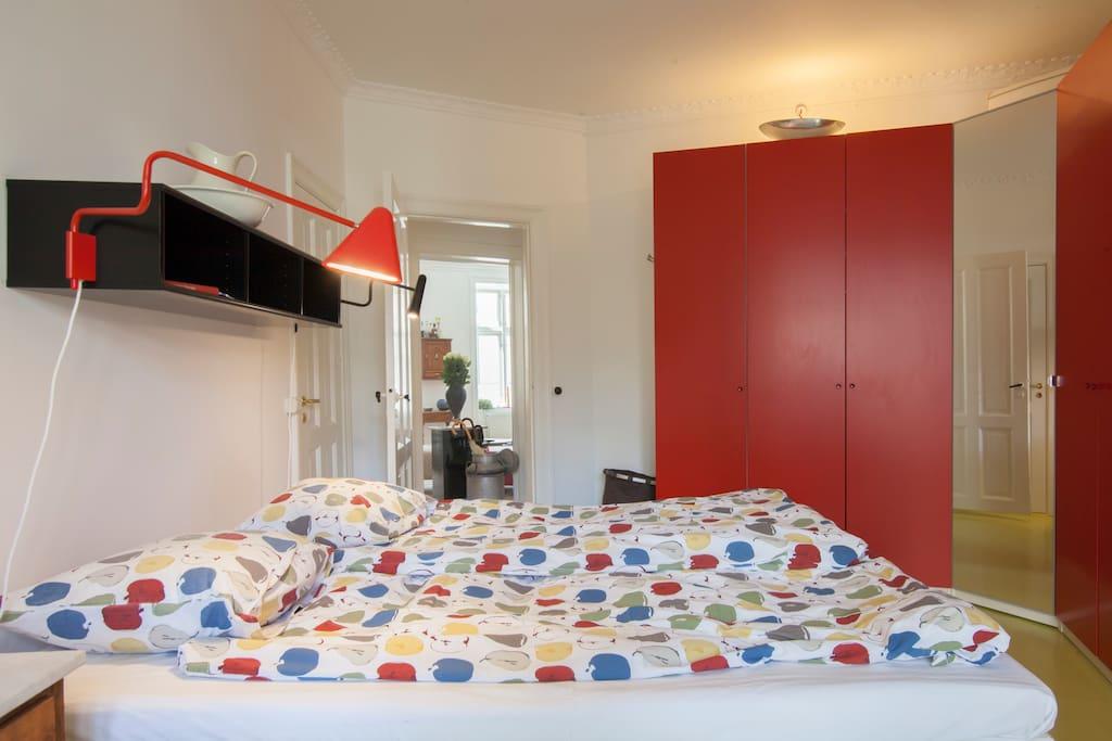 Cool Bedroom facing east