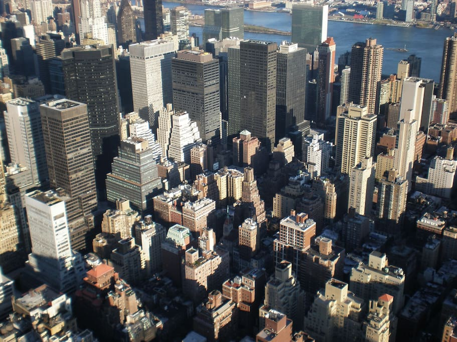 Threw this one in for effect. Pretty though isnt it? From the top of the Empire State Building.