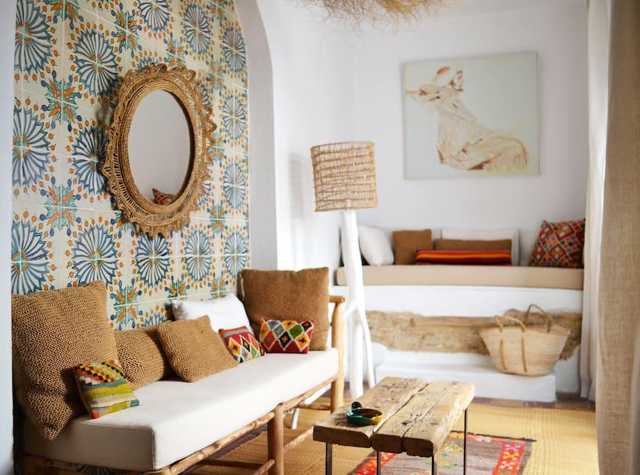 Maison arabe r nov e m dina tunis maisons louer for Decoration maison normande traditionnelle