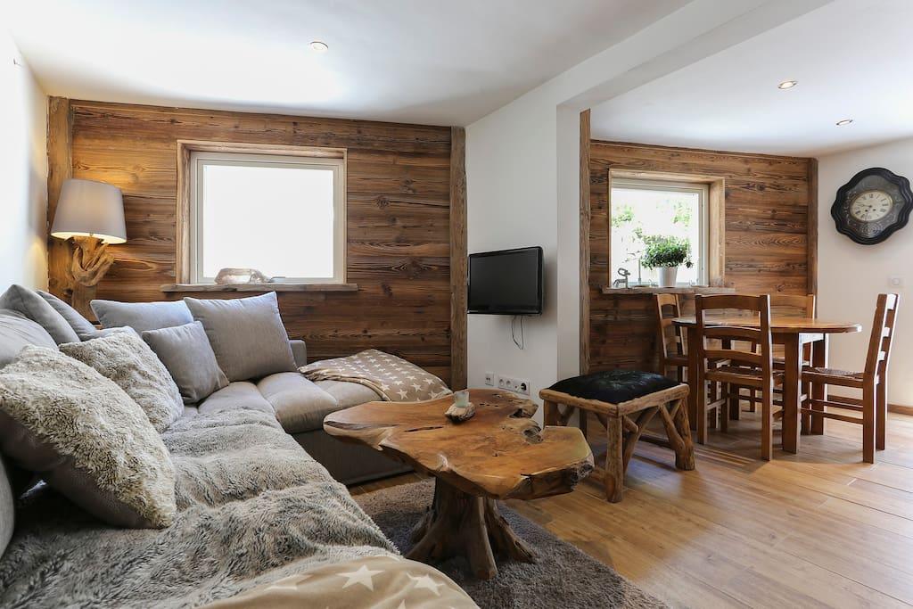 ptite maison chaleureuse et confort maisons louer les houches rh ne alpes france. Black Bedroom Furniture Sets. Home Design Ideas
