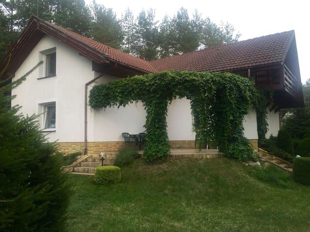 Dom letniskowy z podgrzewanym basenem na Kaszubach - Ostrowite - บ้าน