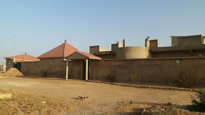 Maison neuve en fin de construction