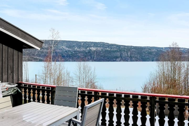 Maison de vacances pour 10 a Vikersund