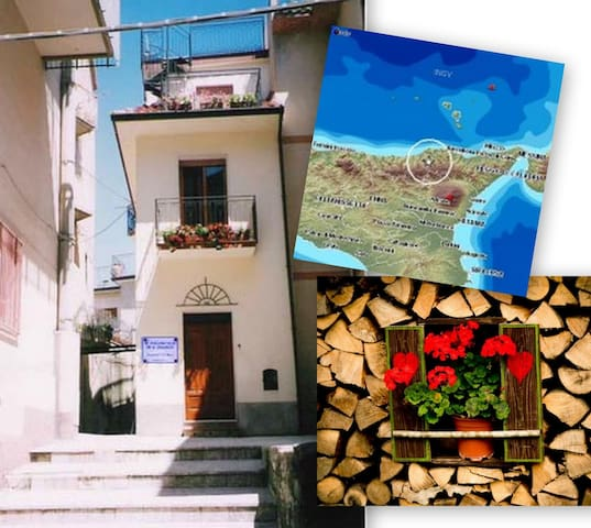Sicily, pleasant b & b, hill / sea - Galati Mamertino - 家庭式旅館