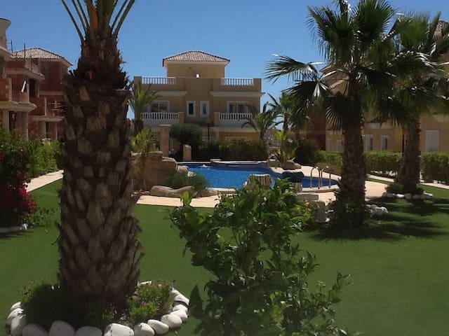 Nieuw gelijkvloers app met zwembad - San Fulgencio - Pis