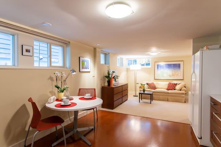 Vibrant Capitol Hill Studio Apartment