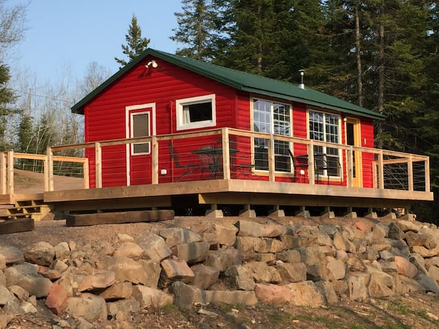 Cabin Brooke on the Baptism River - Finland