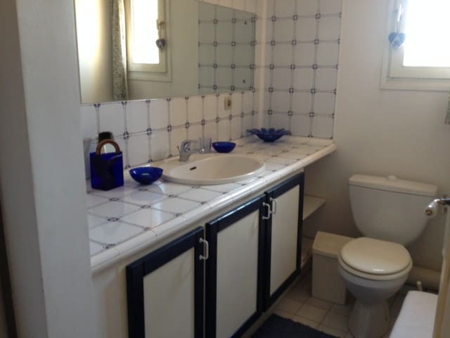 2 jolies chambres dans ma maison, campagne aixoise - Aix-en-Provence - Villa