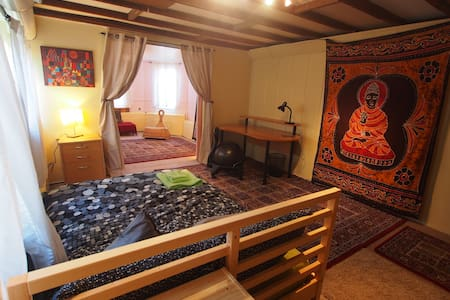 Buddha Room with private Yoga Room - California
