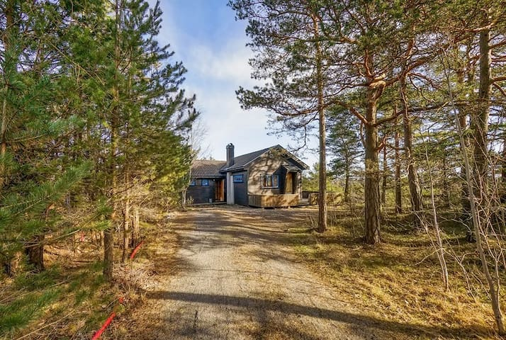 Cosy cabin close to beaches - Larvik