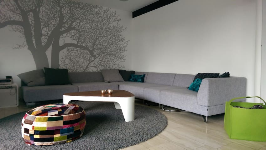Beautifully designed bungalow - Dreieich - Huis