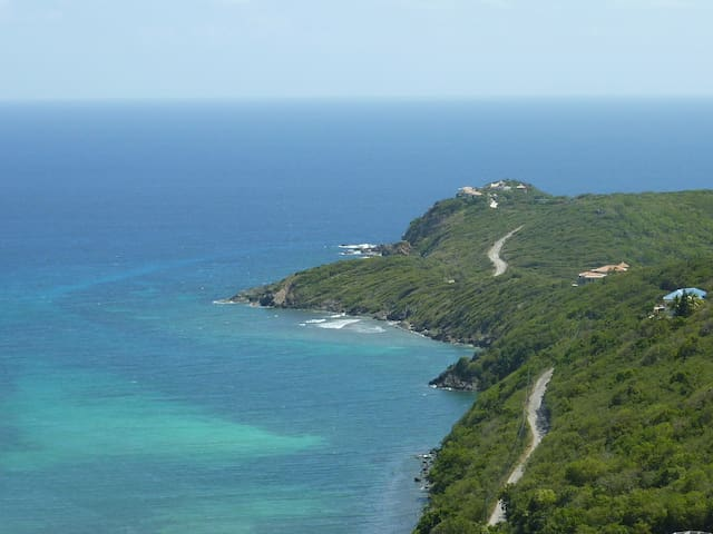 Endless Views, St. John USVI - Fish Bay - Villa