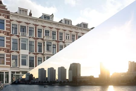 Op rivier-eiland, midden in centrum - 鹿特丹 - 公寓