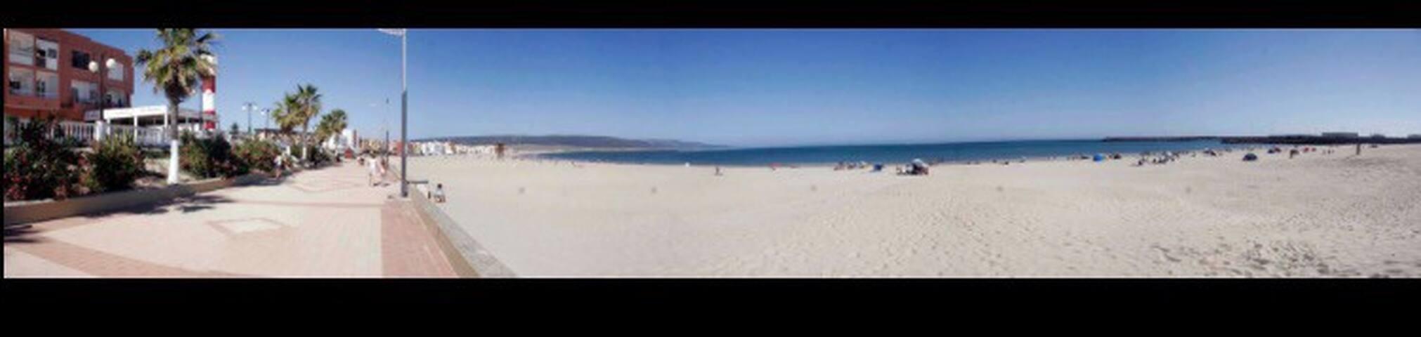 Primera línea de playa del Carmen