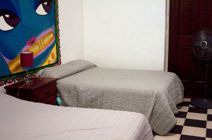 Triple Double Bed Private
