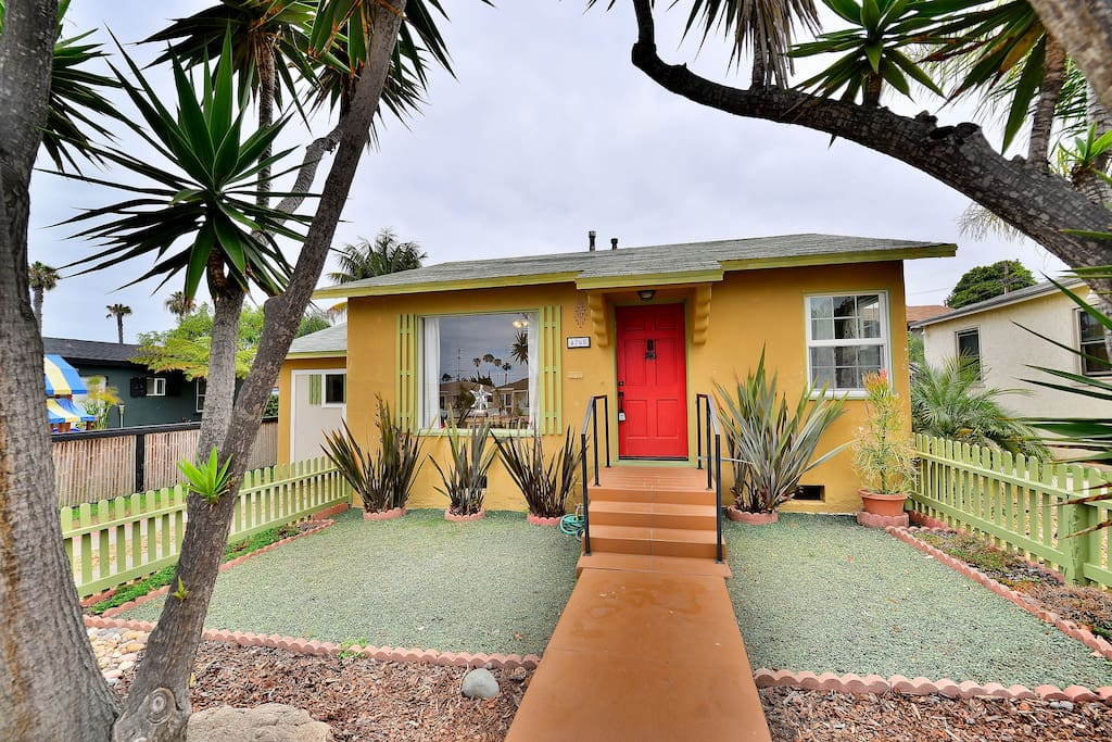 Beach Cottage With So Much Charm Cottages For Rent In San Diego California United States