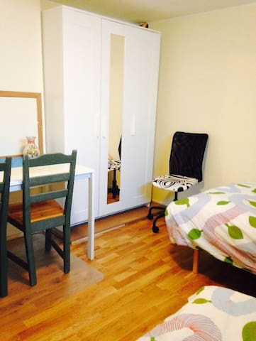 Nice room in Visby, room 2 - Visby - บ้าน