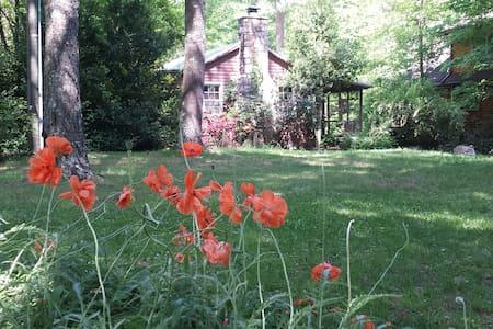 Creekside Cabin On River Walk Nat'l Forest Trails - Hinton - Rumah