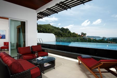 Stunning Condo with Excellent Views & Private Pool - Kathu - Lejlighedskompleks
