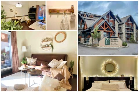 •‿•NEW Cozy Boho King Suite★1BR private parkingGRR