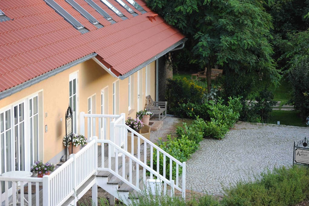 Exklusives Landhaus mit 4 separaten Appartements
