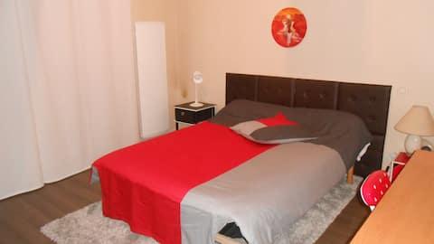Chambre privée dans appartement pour étudiants