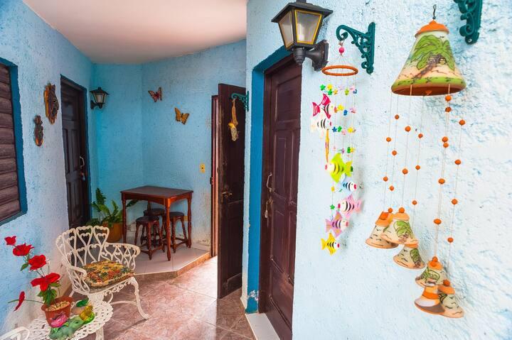 **Tropical Courtyard in Varadero Beach**