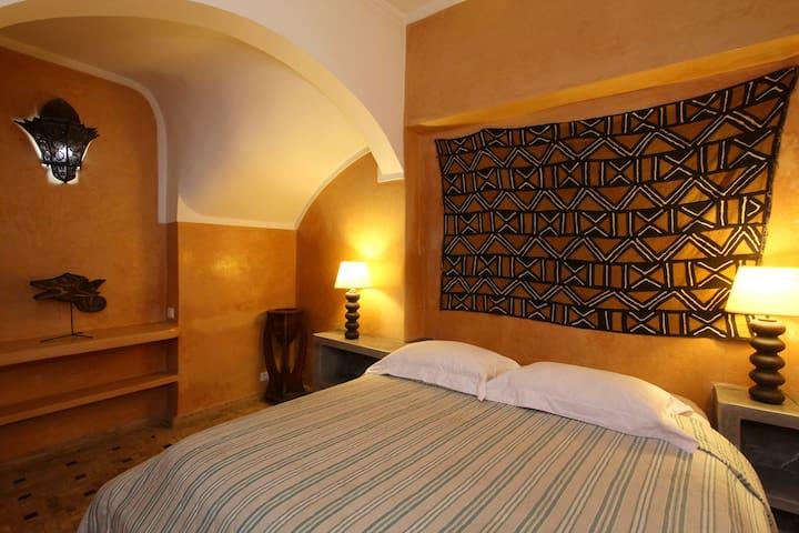 Yoruba bedroom