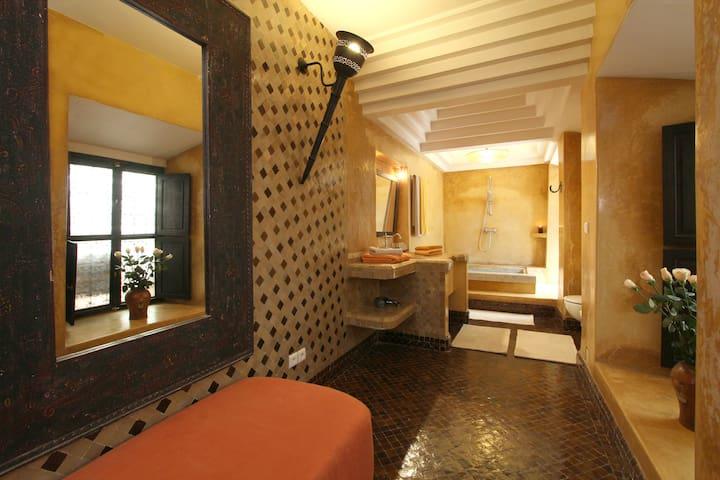 Yoruba bathroom