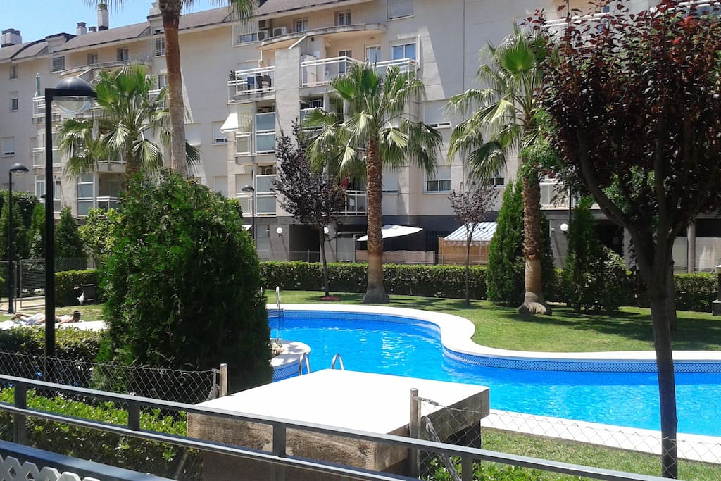 tranquilidad piscina jard n wifi flats for rent in el