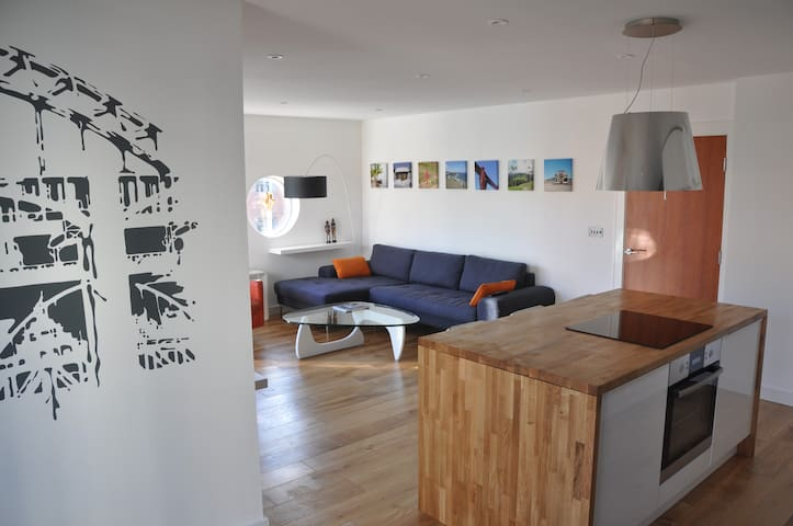 Modern Quayside Apartment Newcastle - Gateshead - Appartement