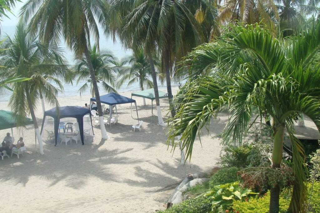 Playa del conjunto